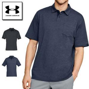 半額 50%オフ アンダーアーマー メンズ ポロシャツ ゴルフウェア 1321111 ヒートギア(夏用) UNDER ARMOUR ニューチ|uacv