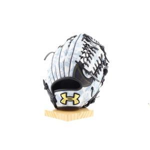 アンダーアーマー 限定 野球 軟式グラブ カモ柄 迷彩柄 外野手用 右投げ アンダーアーマー ベースボール軟式グラブ<迷彩> [1323768]|uacv