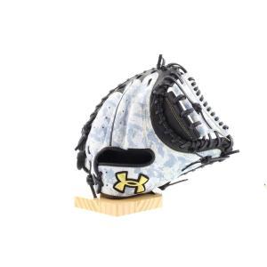アンダーアーマー 限定 野球 軟式グラブカモ柄  キャッチャーミット 捕手用 右投げ アンダーアーマー ベースボール軟式グラブ<迷彩> [1323770]|uacv