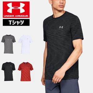 アンダーアーマー メンズ Tシャツ フィッティド 1325622 ヒートギア(夏用) UNDER ARMOUR バニッシュシームレスTシャツ|uacv