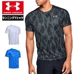 アンダーアーマー メンズ Tシャツ リフレクター ランニング グラフィックTシャツ 1326778 UNDER ARMOUR スピードストライド プリントTシャツ uacv