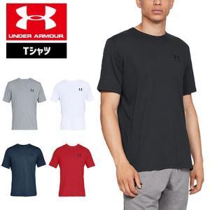 アンダーアーマー メンズ Tシャツ トレーニング 1326799 UNDER ARMOUR スポーツスタイルレフトチェストTシャツ|uacv
