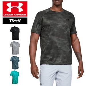 アンダーアーマー メンズ Tシャツ テックTシャツ グラフィックTシャツ 1328189 ヒートギア(夏用) UNDER ARMOUR テックTシャツ2.0<プリント>|uacv