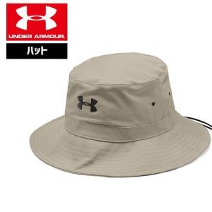 アンダーアーマー 帽子 ハット アウトドア 日焼け対策 UV対策 1328632 ヒートギア(夏用) UNDER ARMOUR アーマーベントウォリアーバケット|uacv