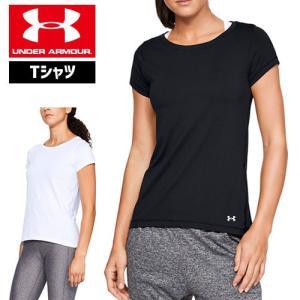アンダーアーマー レディース Tシャツ 1328964 ヒートギア(夏用) UNDER ARMOUR ヒートギアアーマーTシャツ|uacv