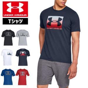アンダーアーマー メンズ Tシャツ ビッグロゴ 1329581 ヒートギア(夏用) UNDER ARMOUR スポーツスタイルTシャツ<ボックス>|uacv