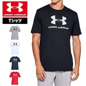 アンダーアーマー メンズ Tシャツ ビッグロゴ 1329590 ヒートギア(夏用) UNDER ARMOUR スポーツスタイルロゴTシャツ|uacv