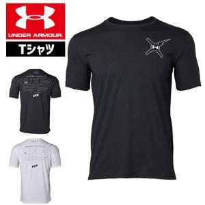 アンダーアーマー メンズ Tシャツ グラフィックTシャツ 背中ロゴ トップス 1329601 UNDER ARMOUR バックロゴTシャツ<DESTROY>|uacv