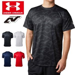 アンダーアーマー メンズ Tシャツ グラフィックTシャツ 限定グラフィック 1331507 ヒートギア(夏用) UNDER ARMOUR テックTシャツ<シーズナルグラフィック>|uacv