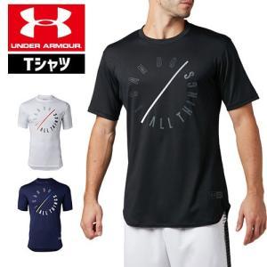 アンダーアーマー メンズ Tシャツ グラフィックTシャツ 限定グラフィック 1331557 ヒートギア(夏用) UNDER ARMOUR SC30テックTシャツ<I Can Do All Things>|uacv