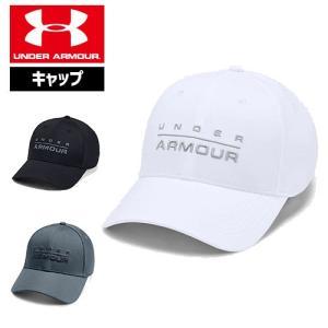 アンダーアーマー キャップ 帽子 ゴルフキャップ ゴルフ 刺繍ロゴ 1342243 UNDER ARMOUR ワードマークSTRキャップ|uacv