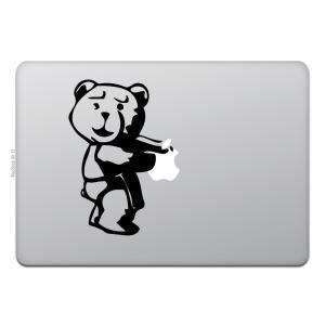 MacBook Air / Pro マックブック ステッカー シール テッド TED  BEAR ク...