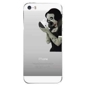iPhone SE / 5s / 5 アイフォン SE / 5 スマホ ステッカー シール 白雪姫 ゾンビ プリンセス タトゥー uandme