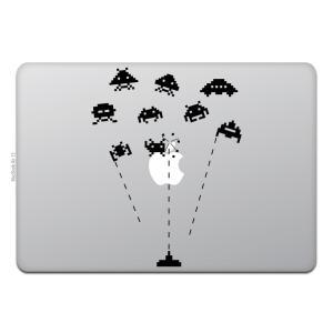 MacBook Air / Pro マックブック ステッカー シール テレビ CM レトロ スペース...