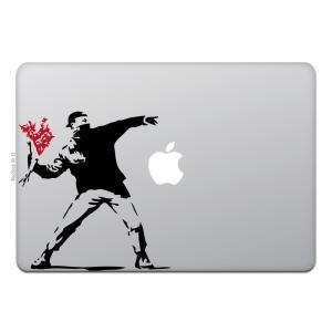 MacBook Air / Pro マックブック ステッカー シール モロトフ ガイ バンクシー フ...