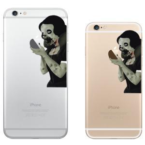iPhone 7 / iPhone 7 Plus / iPhone 6s / iPhone 6s Plus / アイフォン / アイホン スマホ ステッカー シール 白雪姫 ゾンビ プリンセス タトゥー uandme