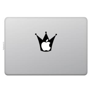 MacBook Air / Pro マックブック ステッカー シール クラウン 王冠  MacBoo...