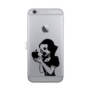 iPhone 7 / iPhone 7 Plus / iPhone 6s / iPhone 6s Plus / iPhone SE / アイフォン / アイホン スマホ ステッカー シール 白雪姫 ゾンビ プリンセス uandme