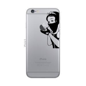 iPhone 7 / iPhone 7 Plus / iPhone 6s / iPhone 6s Plus / アイフォン / アイホン スマホ ステッカー シール 白雪姫 ギャング プリンセス uandme