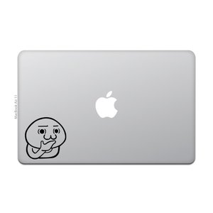 MacBook Air / Pro マックブック ステッカー シール 猫 おにぎり 2ちゃんねる 2...