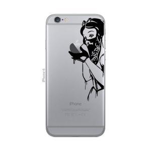 iPhone 7 / iPhone 7 Plus / iPhone 6s / iPhone 6s Plus / アイフォン / アイホン スマホ ステッカー シール 白雪姫 ギャング リベンジ プリンセス uandme