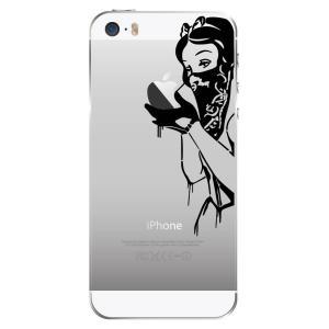 iPhone SE / 5s / 5 アイフォン SE / 5 スマホ ステッカー シール 白雪姫 ギャング リベンジ プリンセス uandme