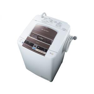 日立 全自動洗濯機 「ビートウォッシュ」10.0kg ダークブラウン BW-10TV-T  uatmalljp