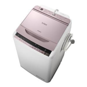 日立 全自動洗濯機(8kg)「ビートウォッシュ」 BW-8WV-P 【合計金額1万円以上代引き手数料無料! 】|uatmalljp