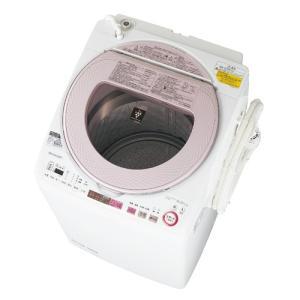 ES-TX8A シャープ タテ型 洗濯乾燥機 8Kg (ピンク )【配達日、時間指定不可】|uatmalljp