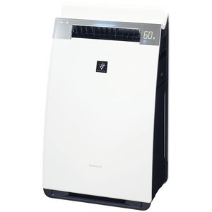 シャープ 加湿空気清浄機 KI-HX75-W(ホワイト系) ...