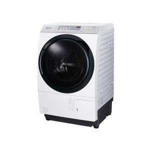 パナソニック 10.0kgドラム式洗濯乾燥機 クリスタルホワイト NA-VX3700L-W 【大型商品 日にち、時間指定不可】|uatmalljp