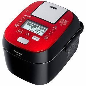 パナソニック スチーム&可変圧力IHジャー炊飯器 Panasonic SRSPX186RK 1.8Lルージュブラック SR-SPX186-RK  【合計金額1万円以上代引き手数料無料! 】|uatmalljp