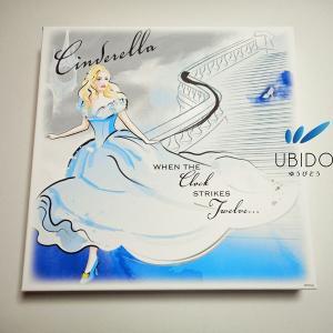 アートパネル シンデレラ13 50角   ディズニー キャンバスアート ウォールアート ファブリックパネル|ubido