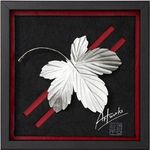 Art Works マロニエ HAKUGIN インテリア 壁飾り 和紙 草木染 ギフトト フレームアート|ubido