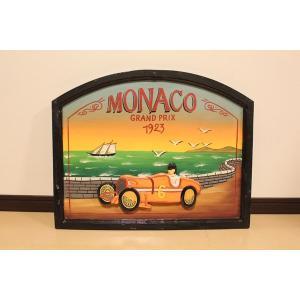 木製サインボード MONACO|ubido