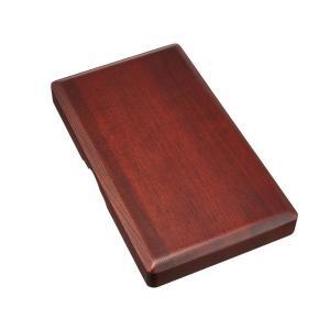 硯箱30 茶ローズナット 5.5寸長 書道用具入れ 道具箱 ギフト 贈答品|ubido