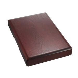 硯箱630 朱丹 大型 書道用具入れ 道具箱 ギフト 贈答品|ubido