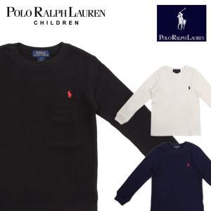 ラフルローレン RALPH LAUREN キッズ 子供服 長袖 Tシャツ ワッフル|ubl