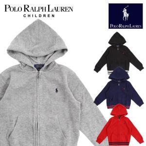 ラフルローレン RALPH LAUREN キッズ 子供服 ジップ パーカー|ubl