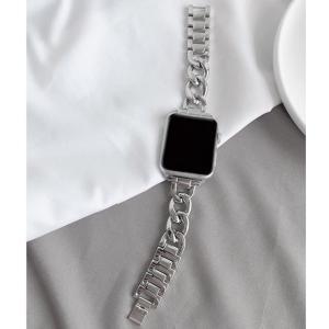 Apple Watch チェーンベルト バンド 38mm/40mm 42mm/44mm 交換用 シル...