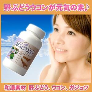 野ぶどうから健康*肝臓サプリメント【野ぶどうウコン】*600...