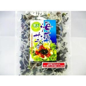 【メール便送料無料】 お手軽・かんたん!寒天たっぷり海藻サラダ 40g サラダはもちろん、酢の物・汁...
