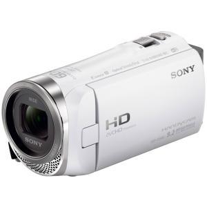 SONY ハンディカム ビデオカメラレコーダー HDR-CX485-W|uchinoneko