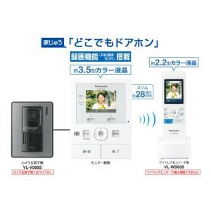 パナソニック ワイヤレス子機付テレビドアホン VL-SWD210K|uchinoneko