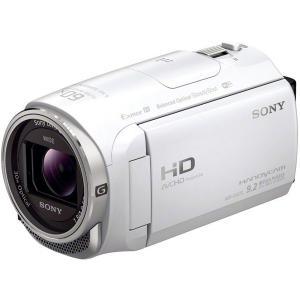 SONY フルハイビジョン ハンディカメラ HDR-CX670 (W) [ホワイト]|uchinoneko
