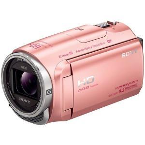 SONY ビデオカメラ ハンディカム HDR-CX670 (P) [ピンク]|uchinoneko