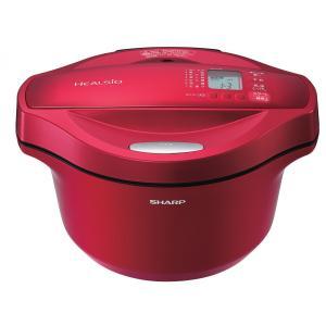 シャープ 水なし自動調理鍋 ヘルシオ ホットクック KN-HT24B-R|uchinoneko