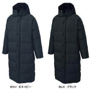 デサント DESCENTE メンズ スーパーロングダウンコート DAT3576SL/ベンチコート/2015〜16年秋冬モデル(ネコポス不可)|uchiyama-sports|03