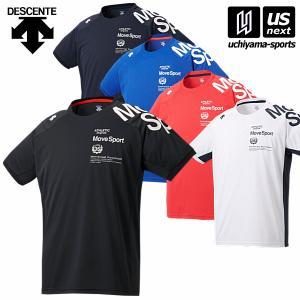 デサント ムーブスポーツ メンズ ドライトランスファーTシャツ 2020年春夏モデル [M便 1/1...