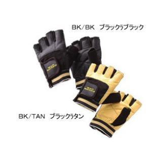 [自社]ゴールドジム GOLDS GYM トレーニング用グローブ レザーグローブ G3401(ネコポス不可)[取り寄せ]|uchiyama-sports